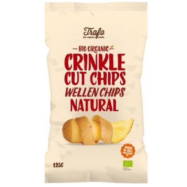 Βιολογικά Τσιπς Πατάτας με Αλάτι Bio 125γρ. Trafo, Fz Organic Food