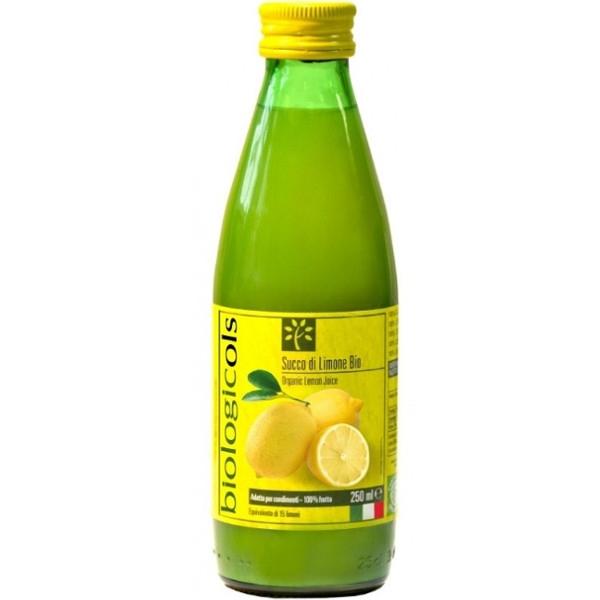 Χυμός Λεμονιού Bio 250ml, Biologicoils