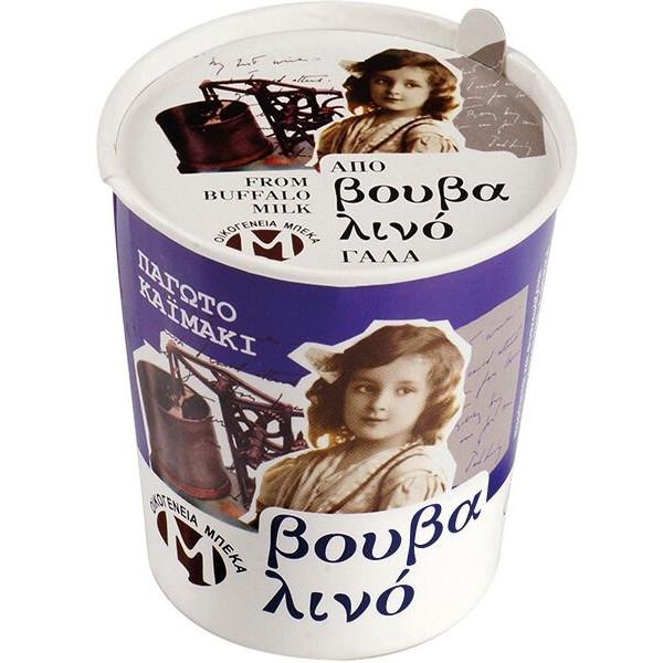 Παγωτό Καϊμάκι από Βουβαλίσιο Γάλα 150γρ., Ελληνικό, Οικογένεια Μπέκα