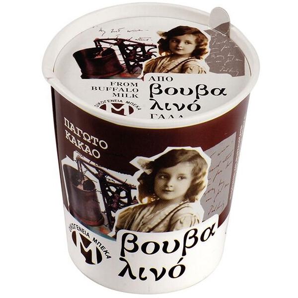 Παγωτό Σοκολάτα από Βουβαλίσιο Γάλα 150γρ., Ελληνικό, Οικογένεια Μπέκα