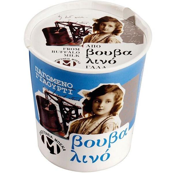 Παγωτό Γιαούρτι από Βουβαλίσιο Γάλα 150γρ., Ελληνικό, Οικογένεια Μπέκα