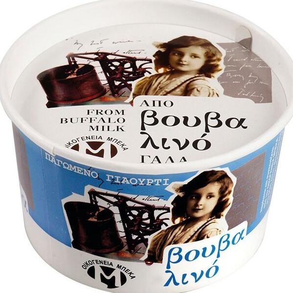 Παγωτό Γιαούρτι από Βουβαλίσιο Γάλα 400γρ., Ελληνικό, Οικογένεια Μπέκα