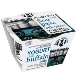 Γιαούρτι από Βουβαλίσιο Γάλα 180γρ., Ελληνικό, Οικογένεια Μπέκα