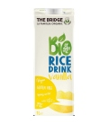 Βιολογικό Ρόφημα Ρυζιού με Γεύση Βανίλια 1lt Bio The Bridge