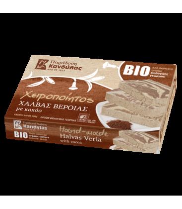Βιολογικός Χαλβάς Βεροίας με Κακάο Bio 200γρ., Ελληνικός, Μέλιμα