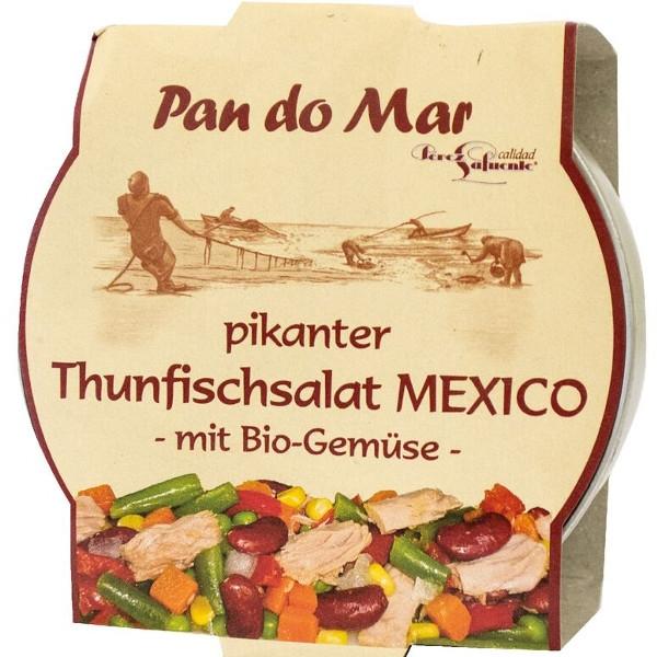 Βιολογική Τονοσαλάτα με Λαχανικά 250γρ., Pan Do Mar