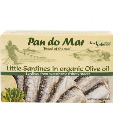 Σαρδέλες Μικρές σε Ελαιόλαδο 120γρ., Pan Do Mar
