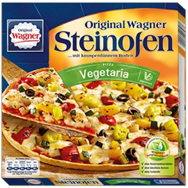 Βιολογική Πίτσα Λαχανικών 350γρ. Kατεψυγμένη Bio λογική, Original Wagner Pizza