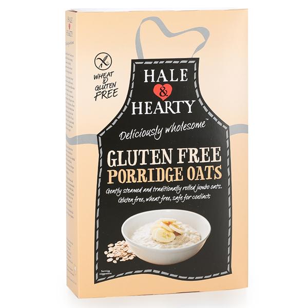 Porridge Βρώμης Χωρίς Γλουτένη 325γρ., Hale & Hearty