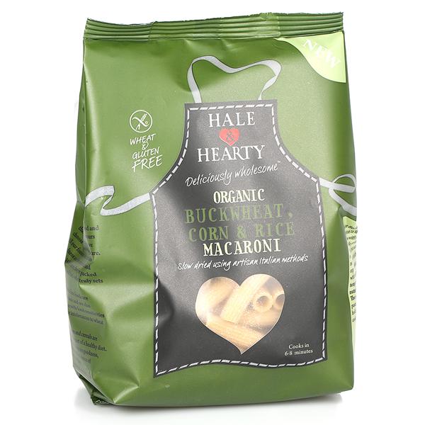 Βιολογικές Πέννες Φαγόπυρου Ρυζιού & Καλαμποκιού Bio Χωρίς Γλουτένη 250γρ., Hale & Hearty