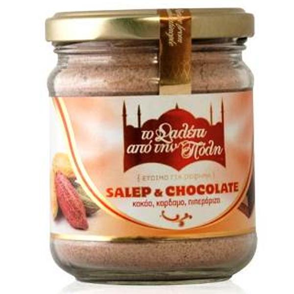 Σαλέπι Χωρίς Ζάχαρη με Σοκολάτα 100γρ., Ελληνικό, Σαλέπι από την Πόλη