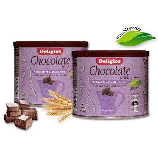 Ρόφημα Σοκολάτας Chocolate Drink 225γρ. Deligios
