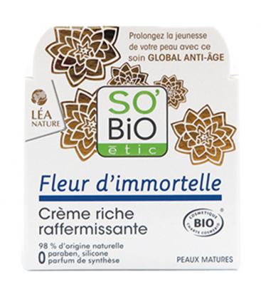 Βιολογική Κρέμα Ανόρθωσης και Σύσφιξης με Ελίχρυσο 50ml, So Bio