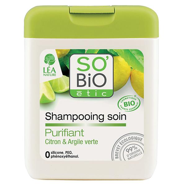 Βιολογικό Σαμπουάν για Λιπαρά Μαλλιά 250ml, So Bio