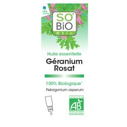 Βιολογικό Αιθέριο Έλαιο Γεράνι Spray 10ml, So Bio