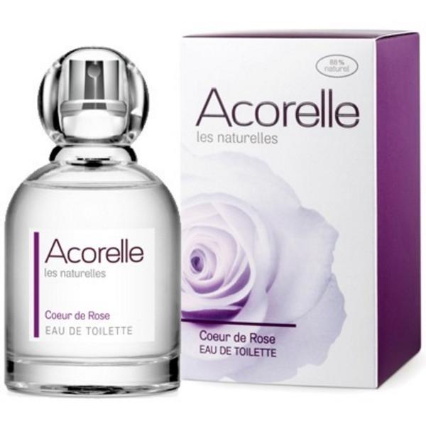 Βιολογικό Eau de toilette Coeur de Rose 50ml, Acorelle