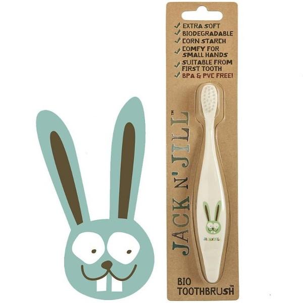 Παιδική Οδοντόβουρτσα Jilly Bunny, Jack & Jill