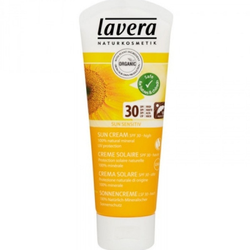 Lavera Αντηλιακή Κρέμα Προσώπου Σώματος SPF30 75ml, Βιολογική