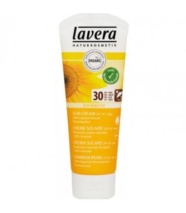 Βιολογική Αντιηλιακή Κρέμα Προσώπου Σώματος SPF30 75ml, Lavera