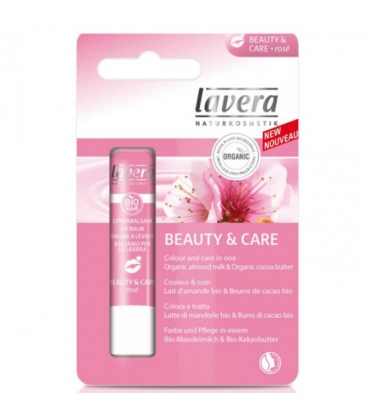 Βιολογικό Lip Balm Soft Rose 4,5G Bio, Lavera