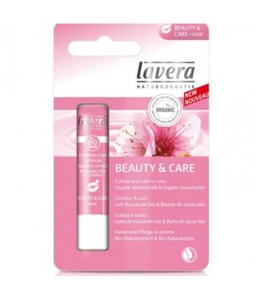 Βιολογικό Lip Balm Soft Rose 4,5G Bio, Lavera