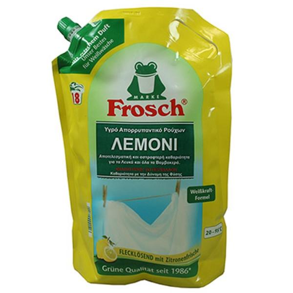 Υγρό Απορρυπαντικό Ρούχων με Λεμόνι 1800ml, Frosch
