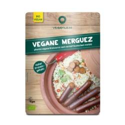 Βιολογικό Λουκάνικο Χορτοφαγικό Πικάντικο Τύπου Merguez Bio 200γρ., Veggyness