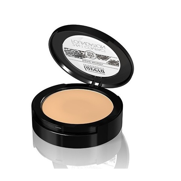 Lavera Make-up compact 2 σε 1 Naturel Ηoney No3, Βιολογικό