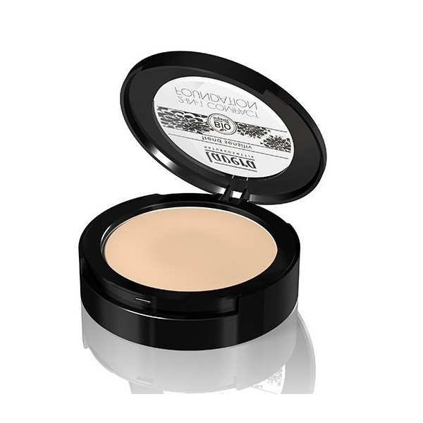 Lavera Make-up Compact 2 σε 1 Beige No1, Βιολογικό