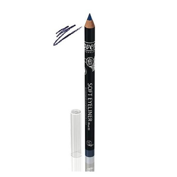Βιολογικό Μολύβι Ματιών Soft Εyeliner Μπλε No5, Lavera