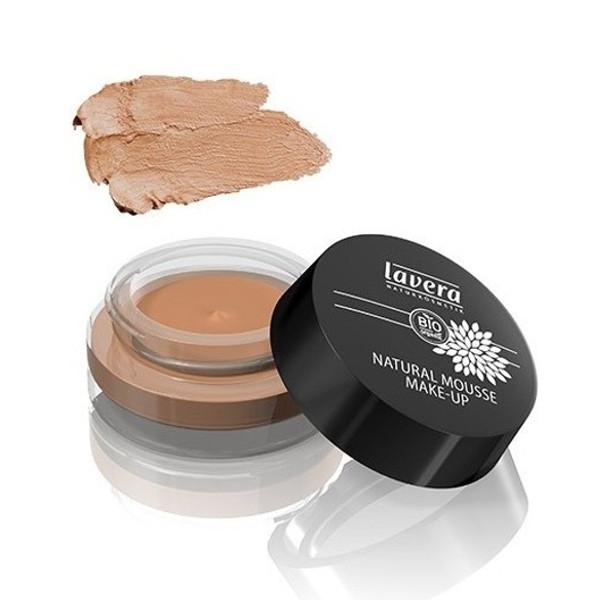 Βιολογικό Φυσικό Mousse Make-up No5 Almond 15γρ., Lavera