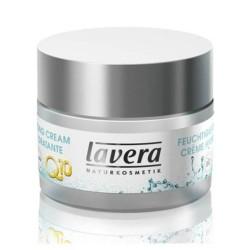 Βιολογική Ενυδατική Κρέμα Προσώπου Q10 με Αντιγηραντική Δράση 50 ml Basis Sensitive, Lavera