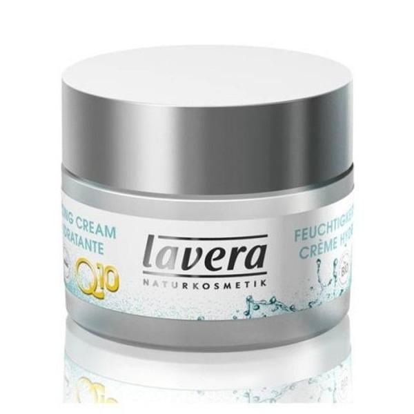 Lavera Ενυδατική Κρέμα Προσώπου Q10 με Αντιγηραντική Δράση 50 ml Basis Sensitive, Βιολογική