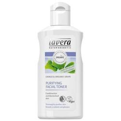 Lavera Λοσιόν Καθαρισμού Προσώπου με Ginkgo και Bio σταφύλι 125ml, Βιολογική