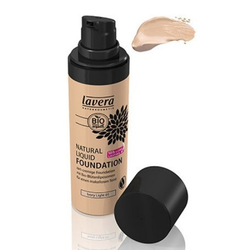 Lavera Φυσικό Yγρό Make-up Nο1 Ivory Light 30ml, Βιολογικό