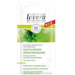 Lavera Μάσκα Καθαρισμού Προσώπου με Βιολογική Μέντα Άργιλο και Άλατα από τη Νεκρά Θάλασσα 10ml, Βιολογική