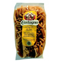 Βιολογικό Μακαρονάκι Κοφτό από 100% Αναποφλοίωτο Ρύζι 500γρ., Castagno