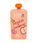 Βιολογικός Πολτός Μπανάνα & Ροδάκινο Bio 120γρ., Ella's Kitchen