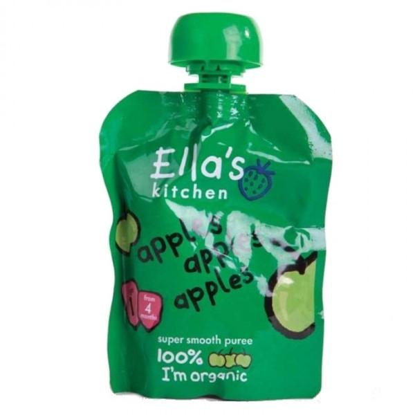Βιολογικός Πολτός Μήλου Bio 70γρ., Ella's Kitchen
