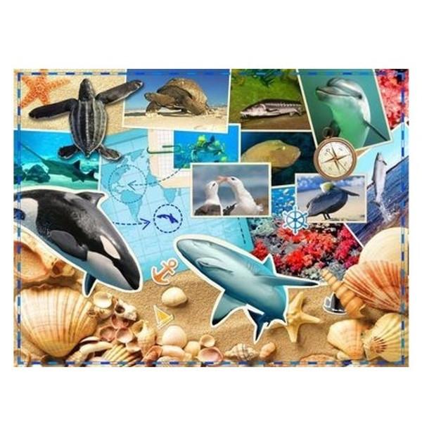 Παζλ Θαλάσσια Ζωή, WWF