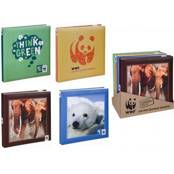Άλμπουμ Φωτογραφιών 160 Θήκες, WWF