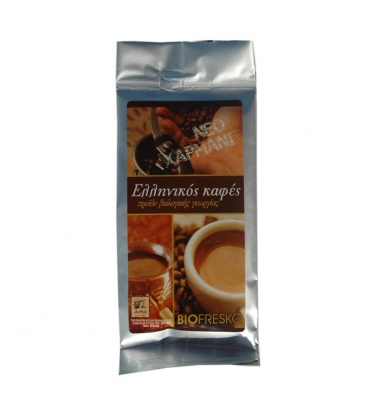 Βιολογικός Ελληνικός Καφές Bio 100γρ., Βιοφρέσκο