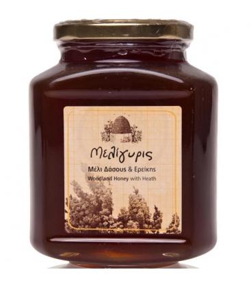 Βιολογικό Μέλι Δάσους και Ερείκης 800γρ. Bio, Ελληνικό, Μελίγυρις