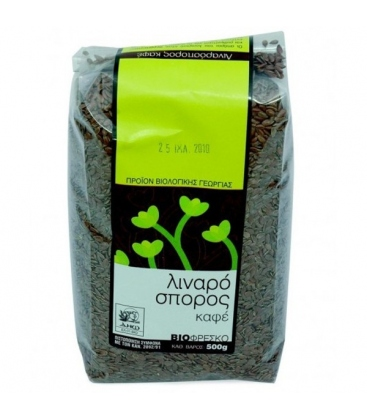 Βιολογικός Λιναρόσπορος Καφέ Bio 500γρ., Βιοφρέσκο