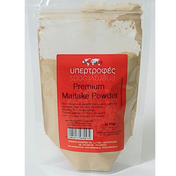Μανιτάρια Maitake σε Σκόνη 60γρ., Health Trade