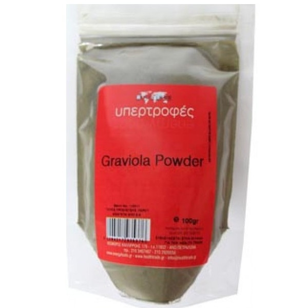 Graviola Powder 100γρ., Health Trade