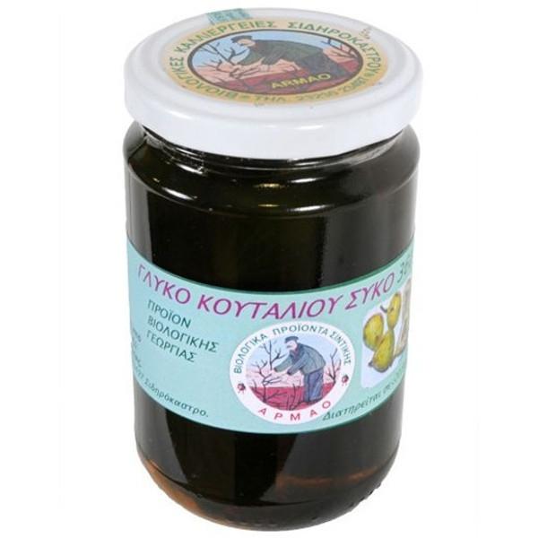 Βιολογικό Γλυκό Κουταλιού Σύκο Bio 370γρ., Ελληνικό, Bio Σέρρες