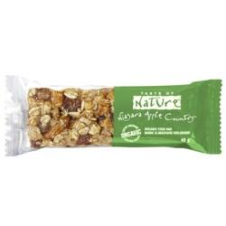 Βιολογική Μπάρα Μήλο Niagara & Κανέλα 40γρ. Bio, Taste of Nature