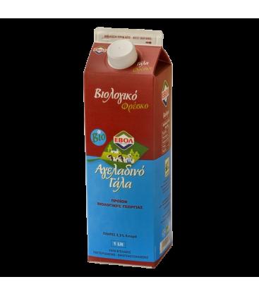Βιολογικό Γάλα Αγελάδος Φρέσκο 1lt 3,5% Bio, Ελληνικό, Εβόλ