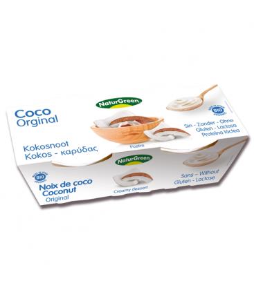Βιολογικό Επιδόρπιο Καρύδας Bio 2x125γρ., Naturgreen